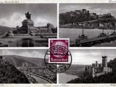 Rhein verschiedene Ansichten