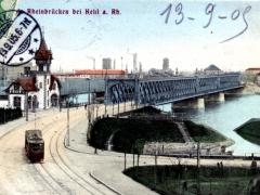 Rheinbrücken bei Kehl a Rh
