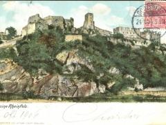 Rheinfels Ruine