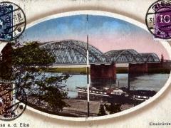 Riesa a d Elbe Elbebrücke