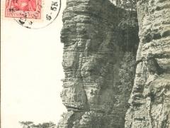 Sächs Schweiz der Basteifelsen