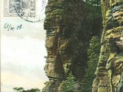 Sächsische Schweiz der Basteifelsen