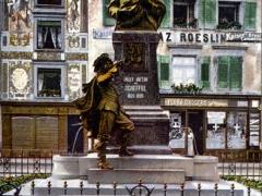 Säckingen Scheffeldenkmal