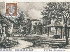Saalburg Innenansicht Porta Decumana
