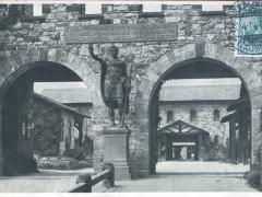 Saalburg Kastell Porta decumana