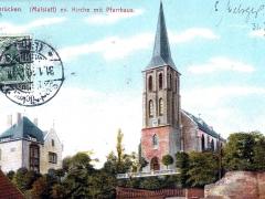 Saarbrücken-Malslatt-ev-Kirche-mit-Pfarrhaus