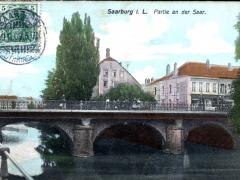 Saarburg i L Partie an der Saar