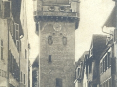 Schlettstadt Rittergasse mit Ritterturm