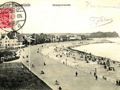 Travemünde Ostseebad Strandpromenade