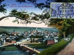 Trier Blick aus dem Weisshauswald