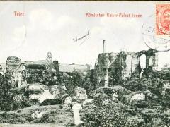 Trier römischer Kaiserpalast innen