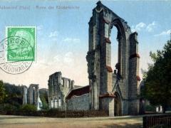 Walkenried Harz Ruine der Klosterkirche