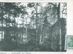 Wangenburg Schlosshof mit Ruine