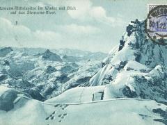 Watzmann Mittelspitze im Winter
