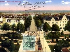Weimar Blick vom Bahnhof