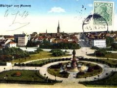 Weimar vom Museum