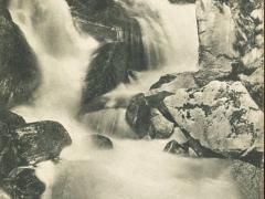 Weisser See Vogesen der Seebachfall