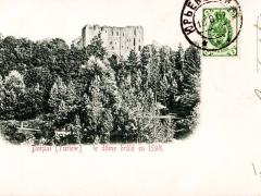 Dorpat le dome brule en 1598