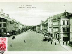 Tartu Dorpat Grosser Markt