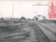 Dahomey Gare Chemin de Fer