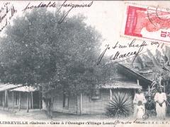 Libreville Case a l'Oranger Village Louis
