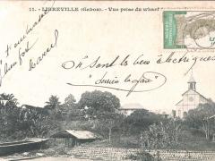 Libreville Vue prise du wharf de la marine 2