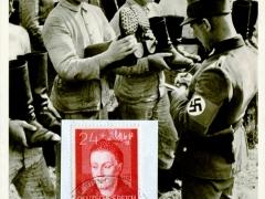 Propagandakarte Reichsarbeitsdienst da hatten einige Zwecken gefehlt