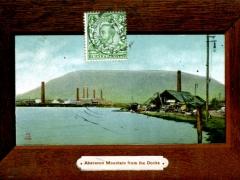 Aberavon Mountain from the Docks