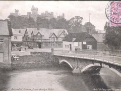 Arundel Castle from Bridge Hotel