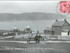 Bangor Gardens and Pier Entrance