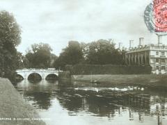 Cambridge Calre Bridge and College