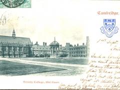 Cambridge Trinity College Old Court