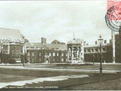 Cambridge the great Court Trinity College