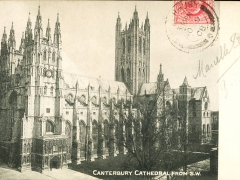 Canterbury Cathedral from SW