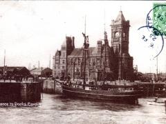 Cardiff Entrance to Docks