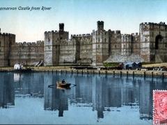 Carnarvon Castle from River