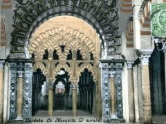 Cordoba La Mezquita El mirahb