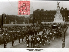 Coronation Procession Royal Carriage