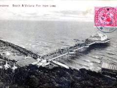 Folkestone Beach and Victoria Pier
