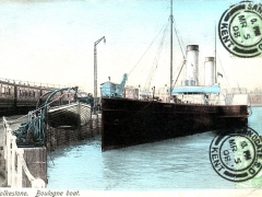 Folkestone Boulogne boat