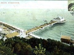 Folkestone Pier and Beach
