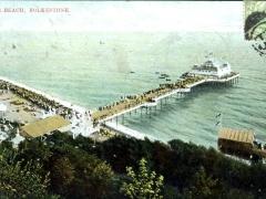Folkestone Pier and Beach