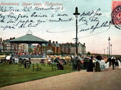 Folkestone the Bandsland Upper Leas