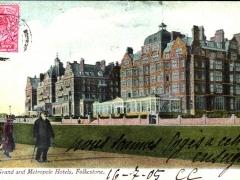 Folkestone the Grand and Metropole Hotels