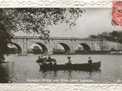 Lancaster Aqueduct Bridge over River Lune