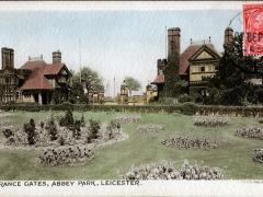 Leicester Entrance Gates Abbey Park