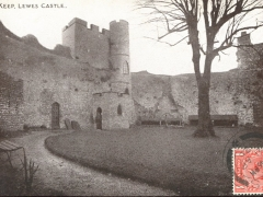 Lewes Castle the Keep