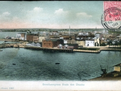Southampton from the Docks