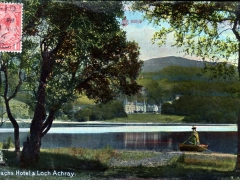 Trossachs Hotel and Loch Achray