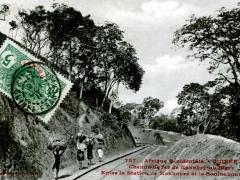Chemin-de-fer-de-Konakry-au-Niger-Entree-la-Station-de-Konkouse